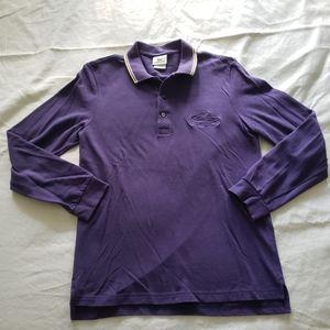 Lacoste Men's Long Sleeve Cotton Polo Shirt